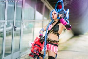 Jinx - League of Legends by GianlucaBini