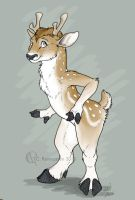 Fallow Deer Character Design by Luckwing
