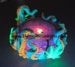 Octopus/Cannabis Glowing Ashtray by electronicgirlgifts