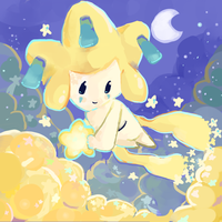 Jirachi by fuchsiasquid