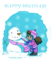 Happy holidays everyone by candybeyatch