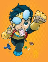 Lil Invincible by lordmesa