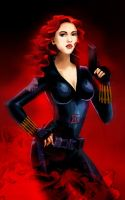 Black Widow by AntaRF