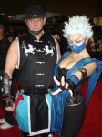 Kung Lao and Frost by Mugen09