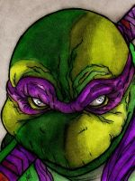 Donatello by nathanobrien