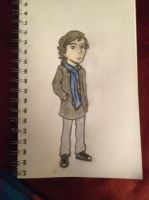 Young Sherlock (Kidlock Practice) by JediSkygirl