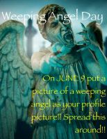Weeping Angel June Ninth by StupidPoptart