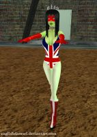Zombie Miss Britain by EnglishDamsel