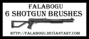 shotgun brushes by falabogu by falabogu