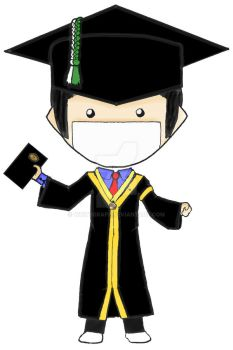 Apun as a Graduated Student Unpad by whitegrape