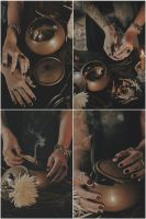 Asha Lo's hands... by RedrumCollaboration
