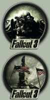 Fallout 3 Icons by kodiak-caine