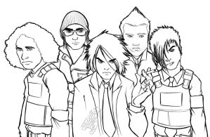 ::MyChemicalRomance Pencils:: by IvyBeth