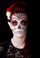 Sugar Skull Fantasy Makeup 3 by Kan3xO