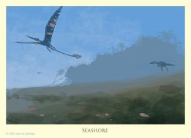 Seashore by Red-Dilopho