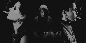 Lisbeth Salander Layout Header by AllTimeScream