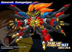 SD Genesic Gaogaigar01 by CKaiCydek