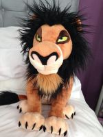 Lion King ~ Disneystore Scar Plush by LittleRolox3