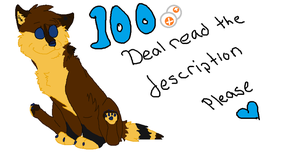 100 point commissions~ GREAT DEAL 4 SPOTS LEFT by Speckelpelt