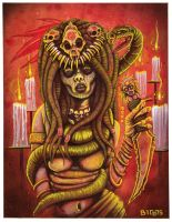 Voodoo Priestess by mr-biggs