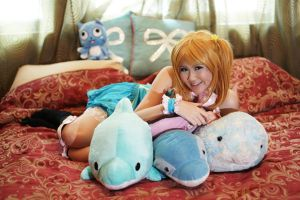 Lucy Heartfilia : Dolphins by CuTePeTz