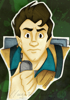 Peter Venkman [The Real Ghostbusters] by Vega-Three