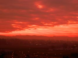 Red Bloody Sky by sognatrice94
