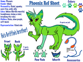 Phoenix Reference Sheet by LightStudioz