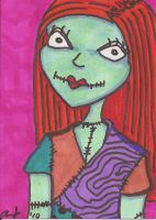 Sally Sketch Card by SweetMonkeyStudios