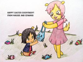 Happy Easter by Shellybelly95