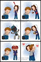 Paid commission: only a hug by KamiDiox