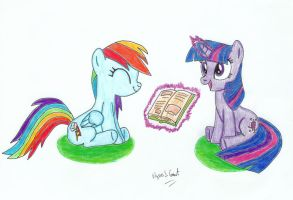 Rainbow and Twilight by UlyssesGrant