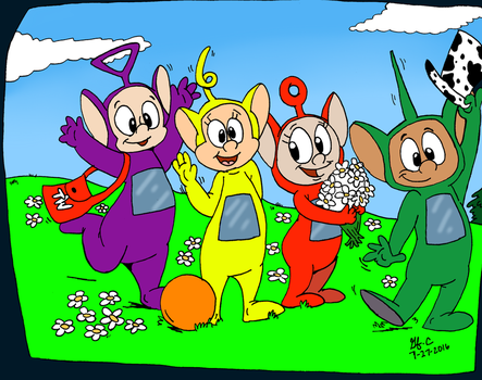 Toony Tubbies by spongefox