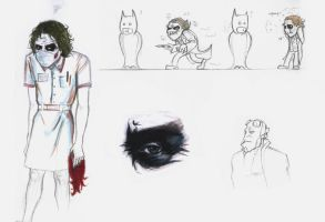 joker doodles 08 by rockedgirl