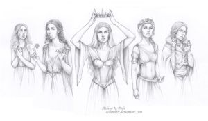 ASOIAF - Queens of Prophecy by Achen089