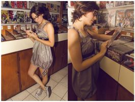 Geek Chic 1 - Comic Store by melissa-andrade