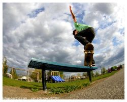 Cory Front Crook by letsgocoyote