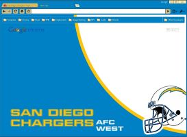 San Diego Chargers Theme by wPfil