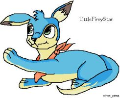 LittleFireyStar the baby lupeh by Sepseriis
