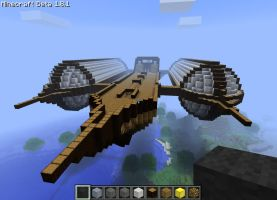 minecraft: Airship by Feral-Ocelot