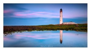 Barns Ness Lighthouse by SebastianKraus