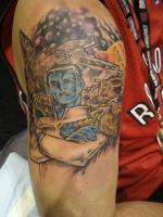 Grand Admiral Thrawn Tattoo by ShannonRitchie