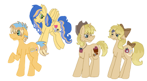 MLP: Sift Through: AppleJacks' foals by MrsDoctaC