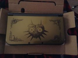 Majora's Mask 3DS XL by UKD-DAWG