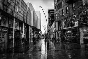 Street Life On A Gloomy Day by ncaph