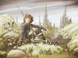 Like Nausicaa by ilya-b