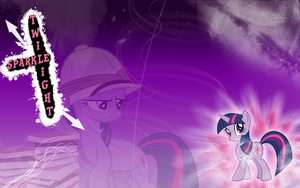 FiM Twilight Sparkle Wallpaper by M24Designs