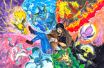Commission: Eeveelutionary Possibilities by Pixelated-Takkun