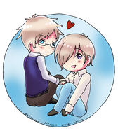 APH: Sweden x Finland by Tomocchan