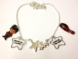 Doctor Who - Rescue me chin boy necklace by Lovelyruthie